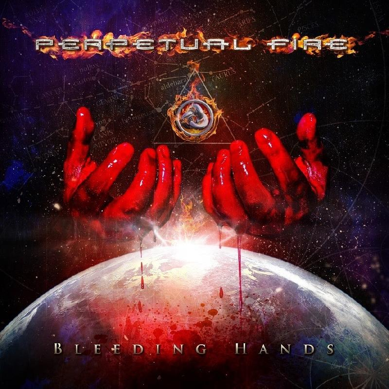 "PERPETUAL FIRE: la band presenta la cover del nuovo album ""Bleeding Hands"""