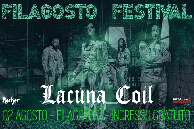 METAL FOR EMERGENCY: il 2 Agosto Warm up con i LACUNA COIL