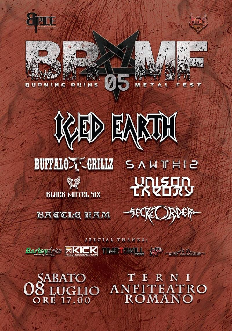 BURNING RUINS METAL FEST 2017: il bill definitivo