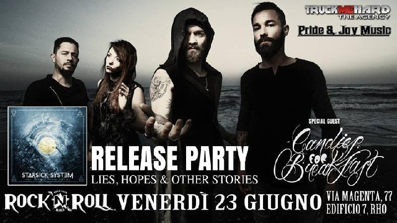 "STARSICK SYSTEM: il release party del nuovo disco ""Lies, Hopes & Other Stories"""