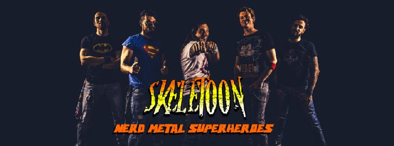 SKELETOON: disponibile il lyric video di ''Drowning Sleep'' con la partecipazione di Jonne Jarvela