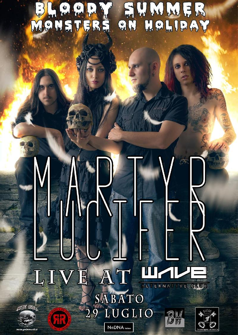 MARTYR LUCYFER: il prossimo live al Bloody Summer / Monsters on Holiday