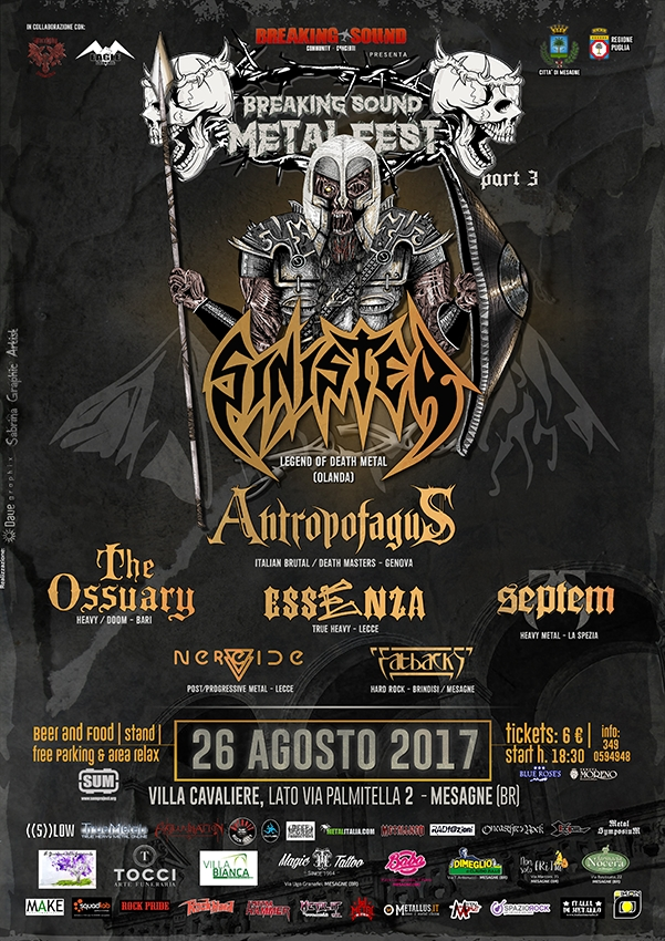 BREAKING SOUND METAL FEST: i dettagli del fest