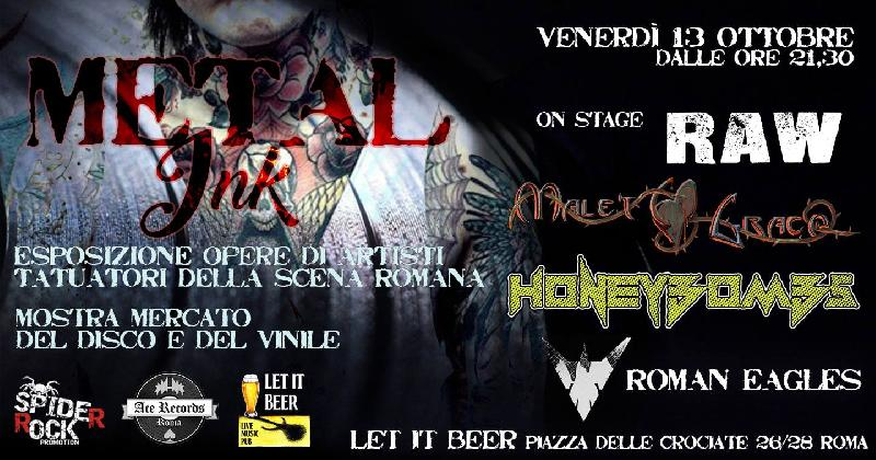 METAL INK: porta il tuo demo alla Spider Rock Promotion