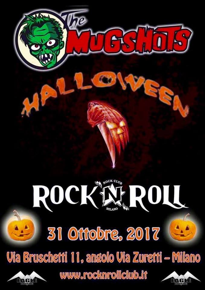 THE MUGSHOTS: LP deluxe per ''Something Weird'' e Halloween Party al Rock N Roll di Milano