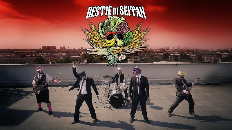 NANOWAR OF STEEL: disponibile il nuovo video ''Bestie di Seitan''