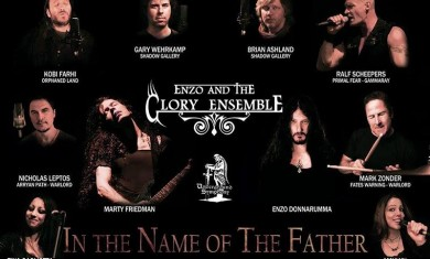 ENZO AND THE GLORY ENSEMBLE: in uscita il nuovo disco ''In The Name of The Son''