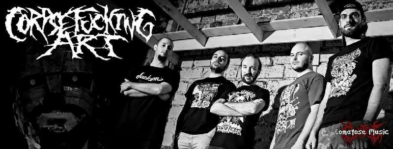 CORPSEFUCKING ART: siglato l'accordo con la Comatose Music