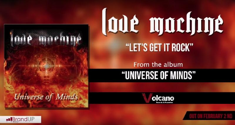 "LOVE MACHINE: il nuovo singolo ""Let's Get it Rock"""
