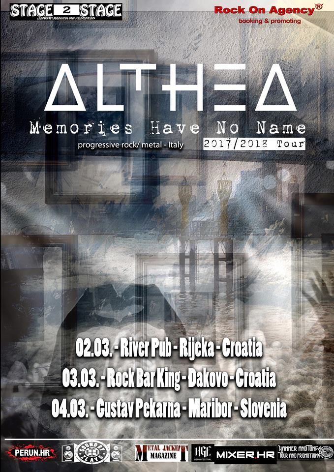 ALTHEA: annunciano un mini-tour in Europa