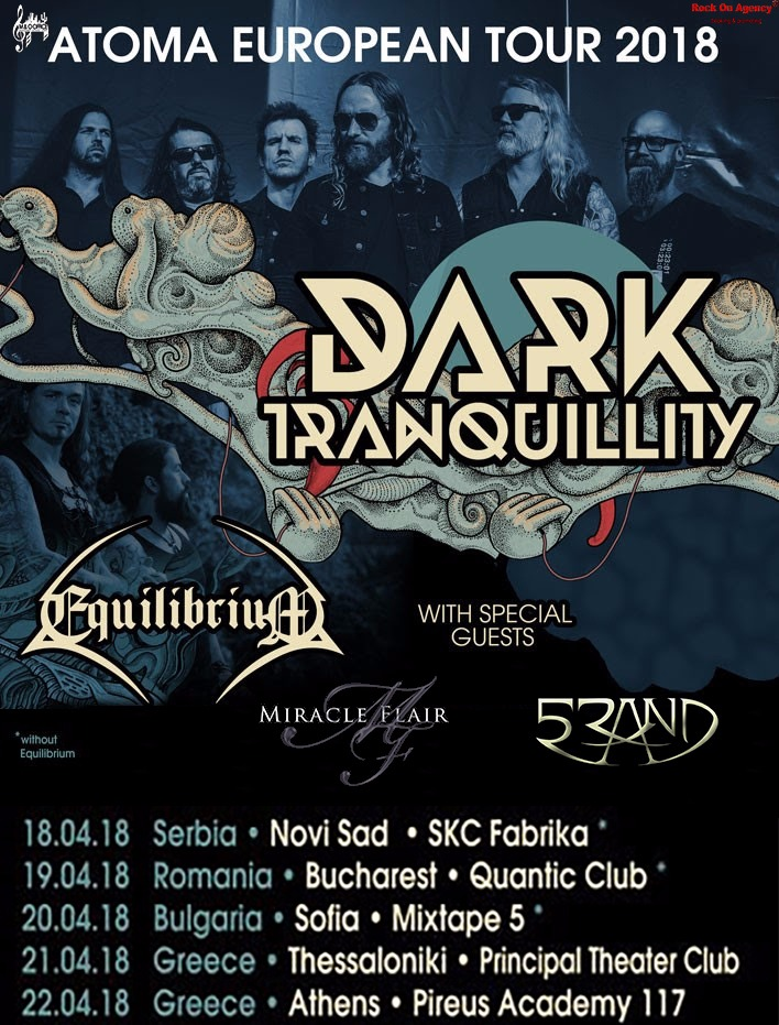 5RAND: in tour Europeo con i Dark Tranquillity