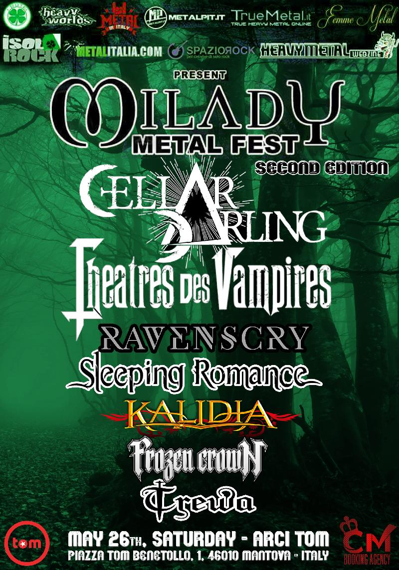 MILADY METAL FEST II: annunciati anche i FROZEN CROWN
