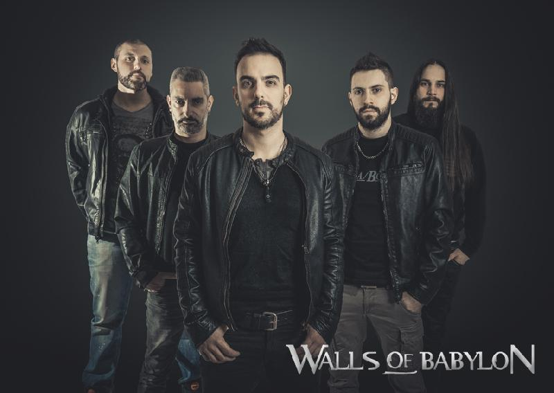 WALLS OF BABYLON: nuovo album e lyric video del brano ''Let me Try''