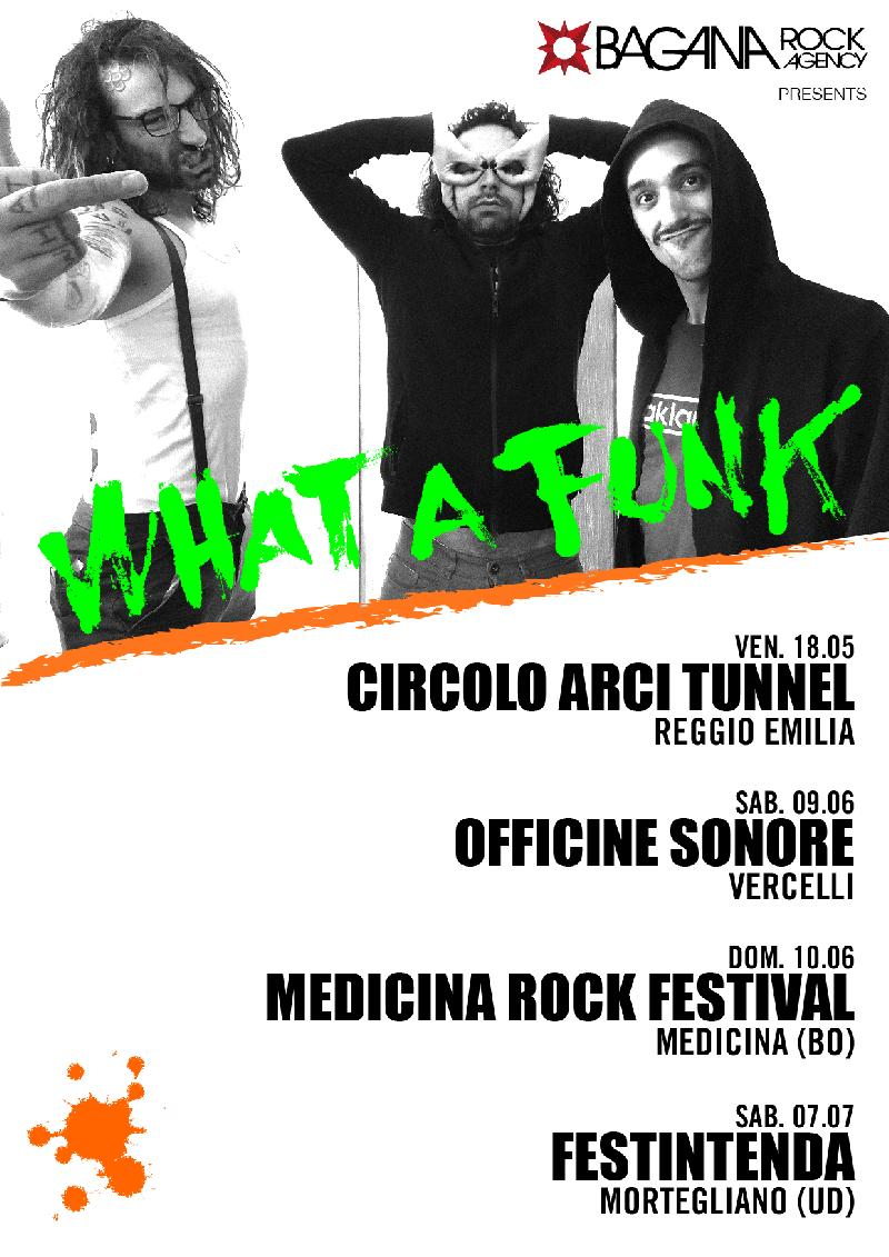 WHAT A FUNK: tornano on stage con quattro nuove date live