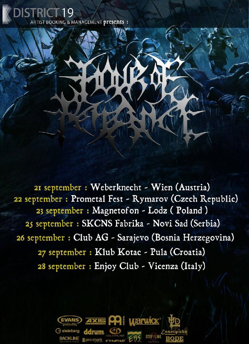 HOUR OF PENANCE: nuove date europee a settembre