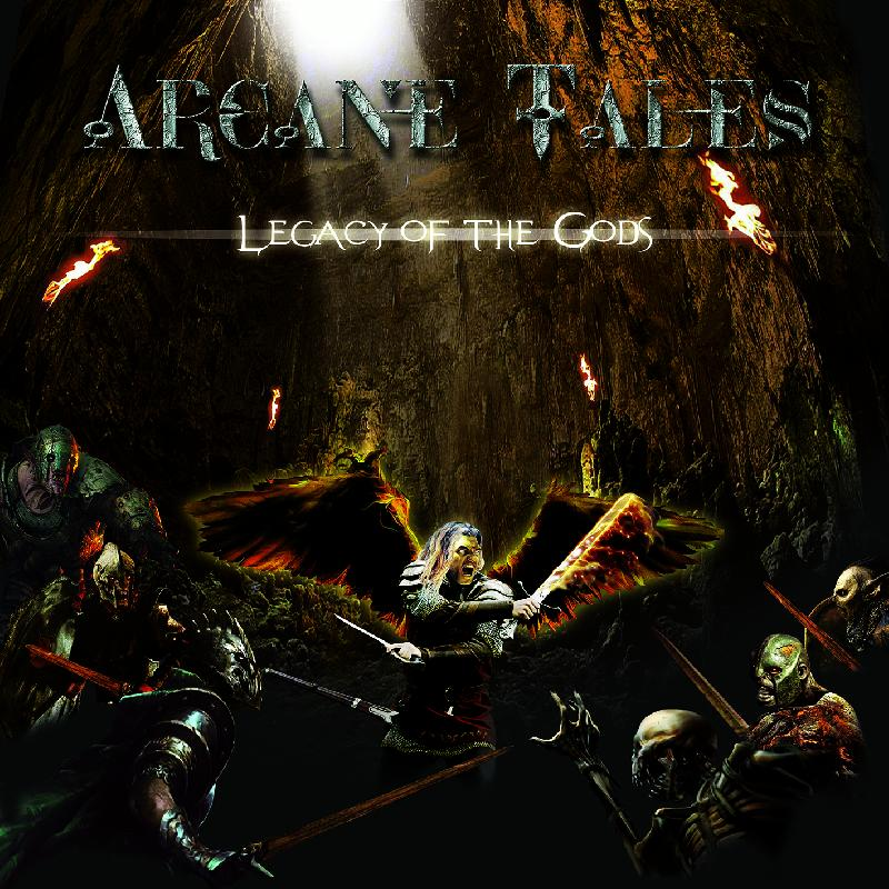 ARCANE TALES: nuovo album a ottobre e anteprima del brano ''Breaking The Hard Chains Of Destiny''