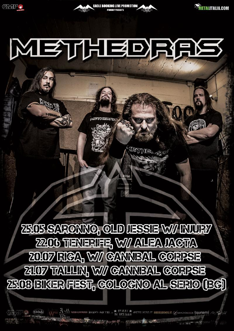 METHEDRAS: nuove date live