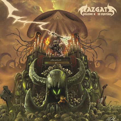 RAZGATE: il secondo album ''Welcome Mass Hysteria'' è in programma per la Punishment18 Records nel 2018