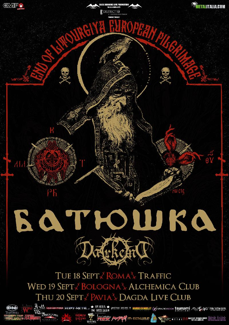 DARKEND: band di supporto ai BATUSHKA