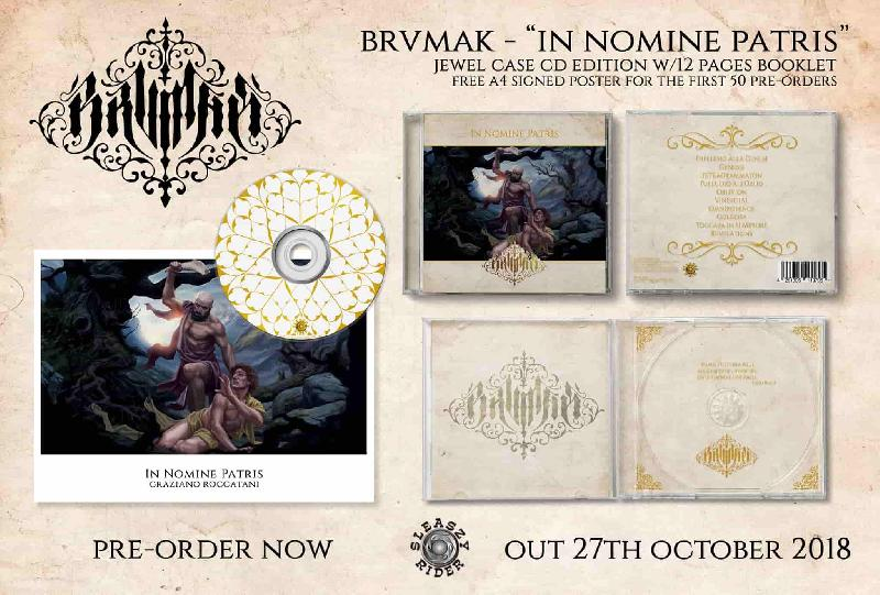 BRVMAK: nuovo videoclip ed album disponibile in pre-order