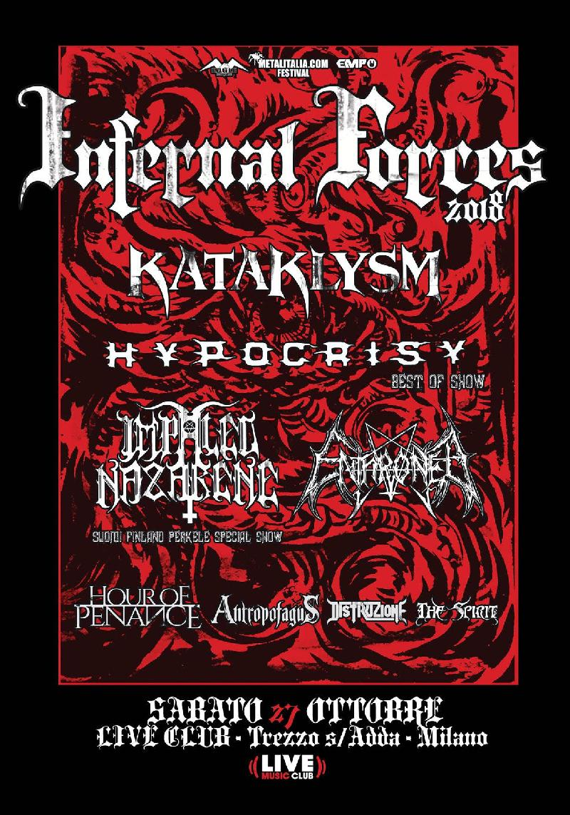 INFERNAL FORCES 2018: il trailer del festival