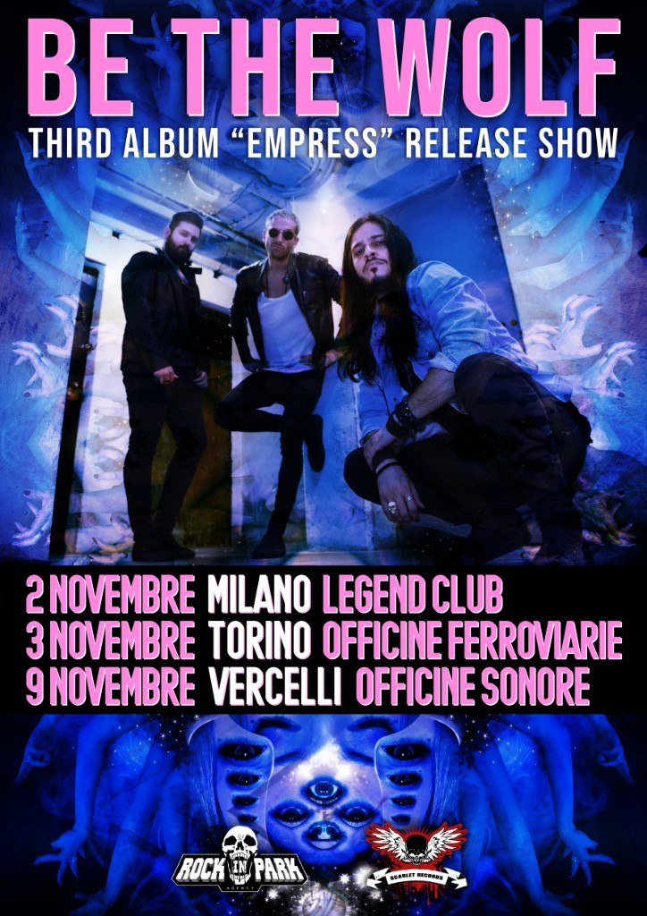 "BE THE WOLF: al via il tour promo per il nuovo album ""Empress"""