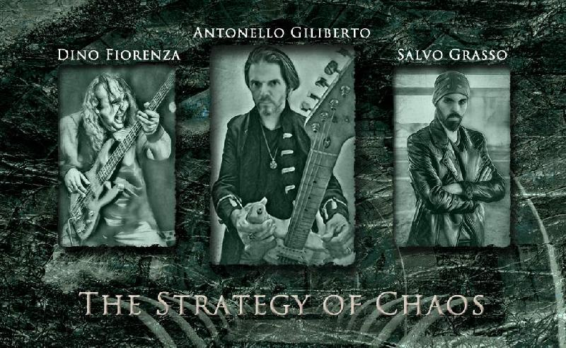 ANTONELLO GILIBERTO: il trailer del nuovo album ''The Strategy Of Chaos''