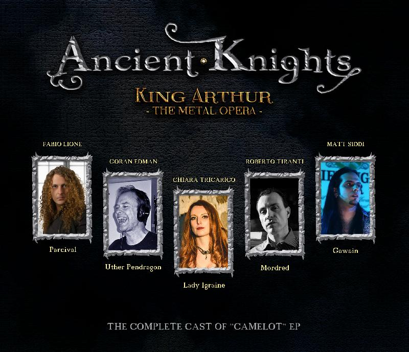 ANCIENT KNIGHTS: il debut album ''King Arthur-The Metal Opera''