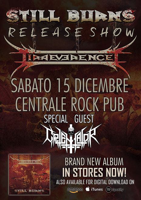 IRREVERENCE: il video di ''Blind Times'' dal nuovo album