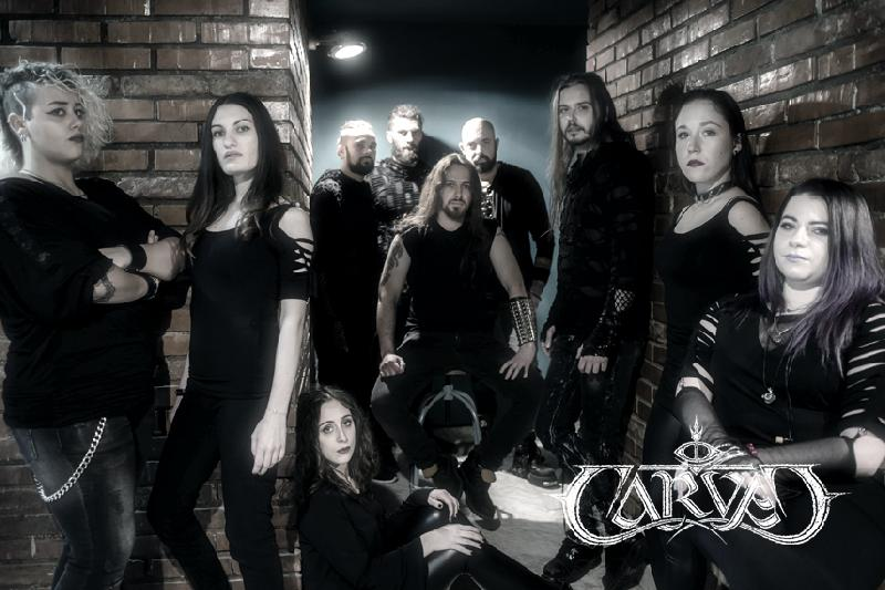 CARVED: in streaming il primo brano ''Sons of Eagleadds'' con la line up orchestrale