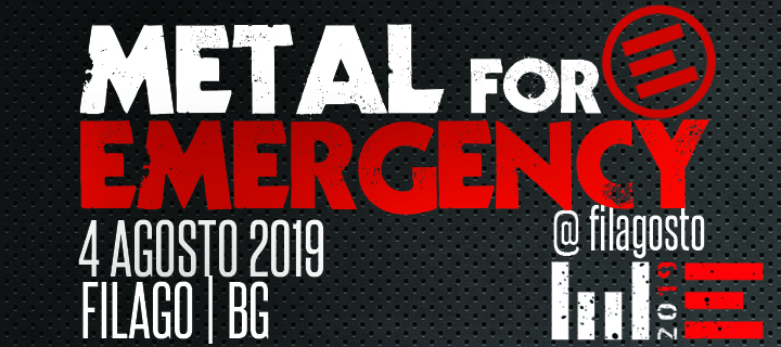 METAL FOR EMERGENCY 2019: data, location e novita'