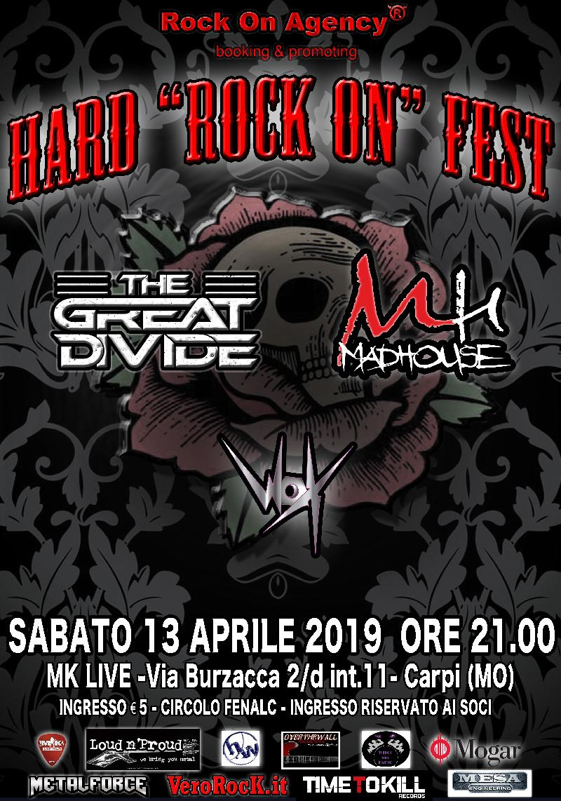 HARD ROCK (ON) FEST: hard rock made in Italy