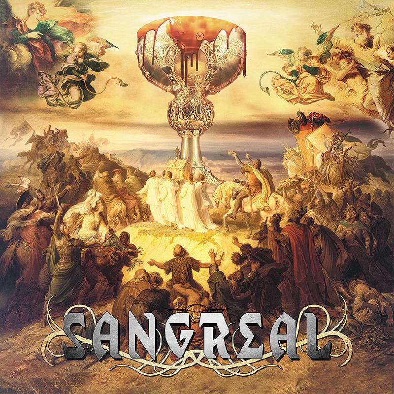 SANGREAL: il lyric video ''Vision And Life''