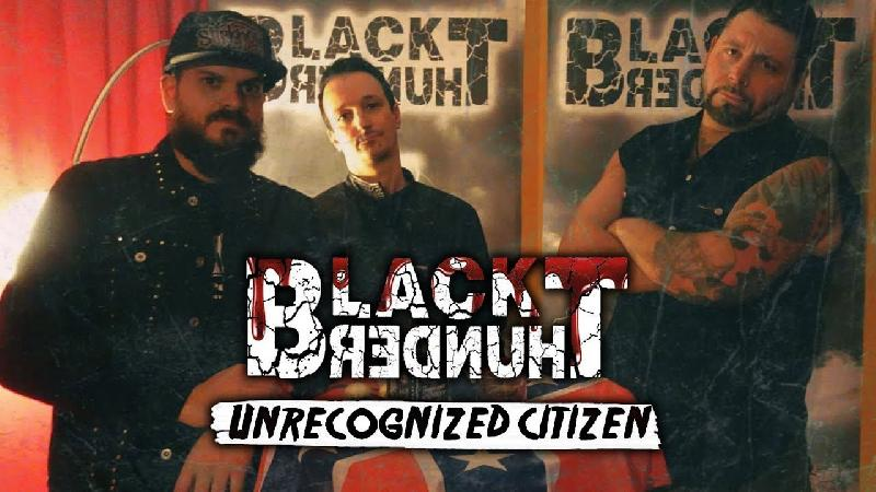 BLACK THUNDER: il lyric video di ''Unrecognized Citizen''