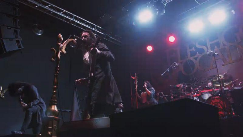 FLESHGOD APOCALYPSE: lanciano il video dal vivo di ''The Fool''