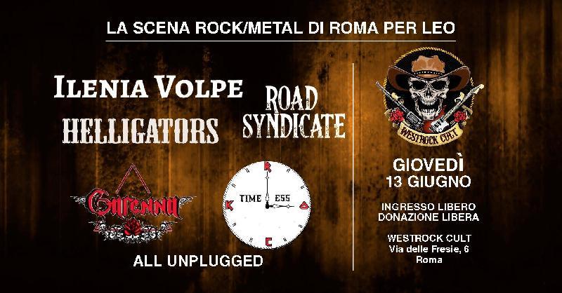 LA SCENA ROCK/METAL DI ROMA PER LEO: i dettagli della serata
