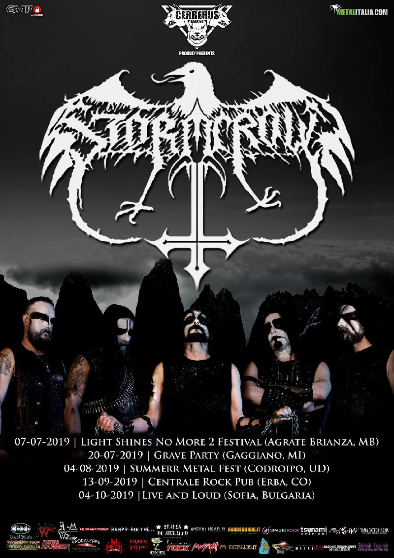 STORMCROW: nuove date live