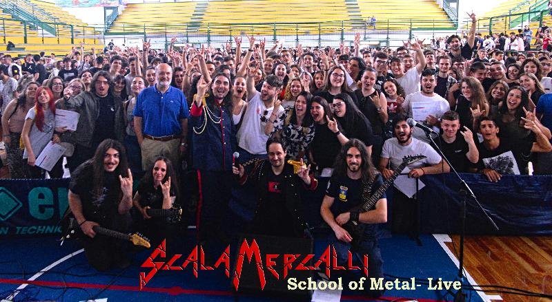 SCALA MERCALLI: live in the school