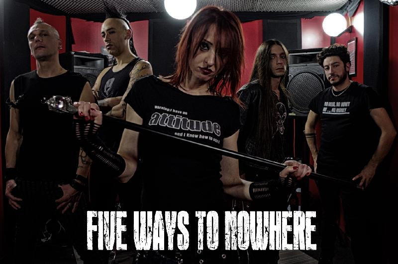FIVE WAYS TO NOWHERE: stanno registrando il nuovo album