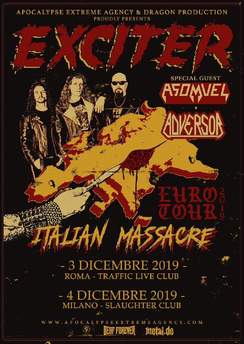 ADVERSOR: due date in Italia con gli EXCITER