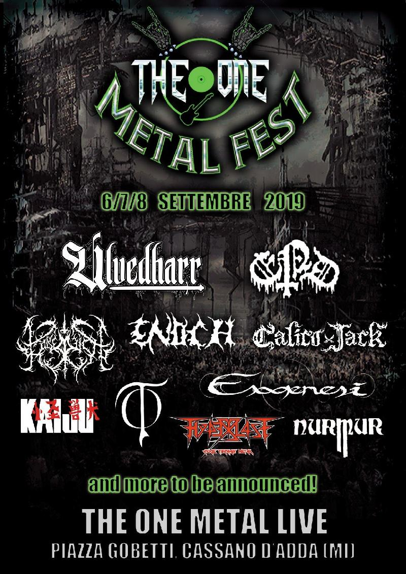 ULVEDHARR: confermati al The One Metal Fest