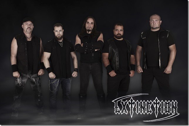 EXTINCTION: il nuovo album ''The Apocalypse Mark''