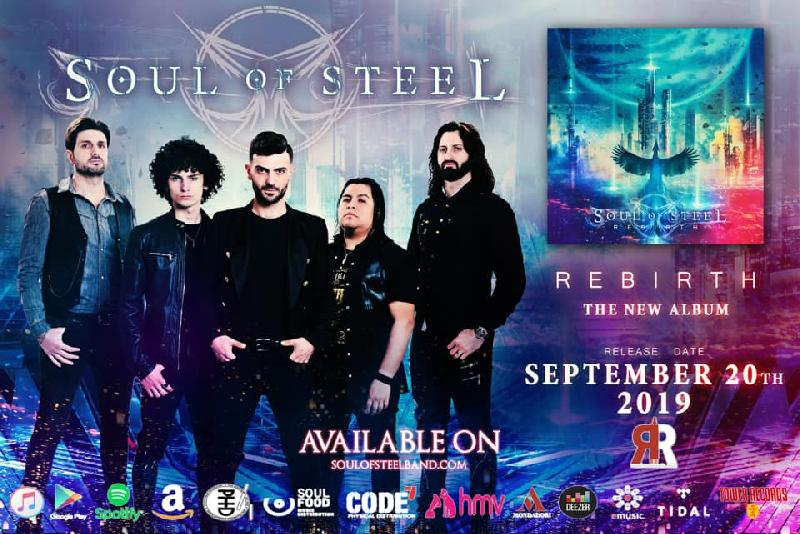 SOUL OF STEEL: il lyric video di ''Sailing my Fate''