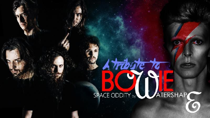 WATERSHAPE: una cover per celebrare i 50 anni di ''Space Oddity''