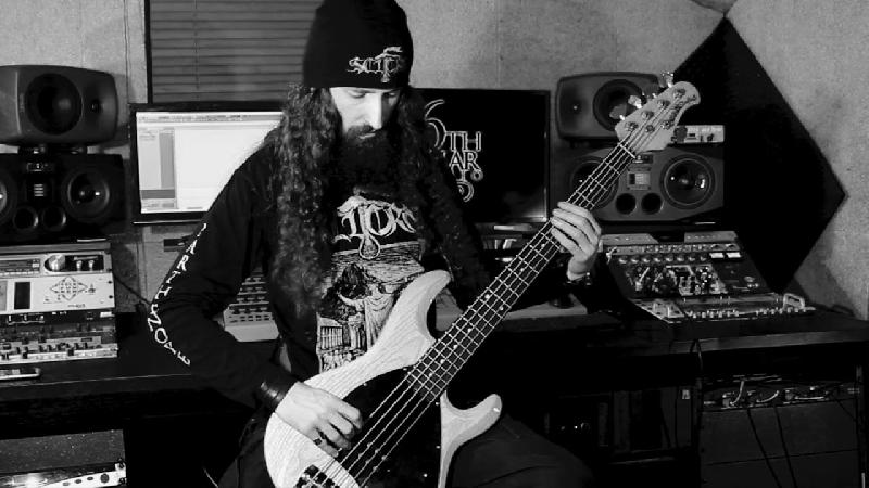 SCUORN: il bass playthrough video di ''Virgilio Mago''