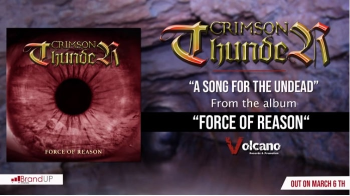 CRIMSON THUNDER: il nuovo singolo ''A Song for the Undead''