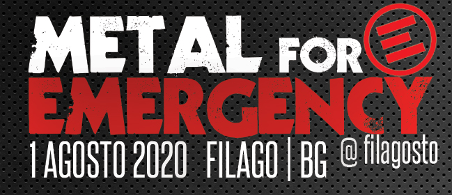 METAL FOR EMERGENCY 2020: data e location