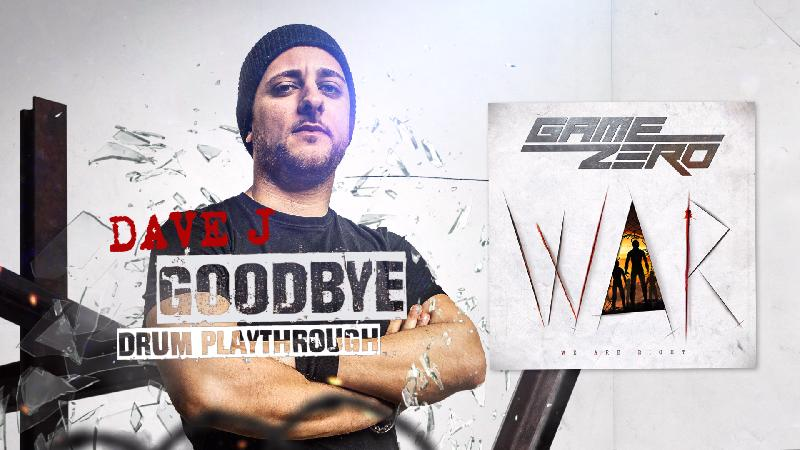 GAME ZERO: il drum playthrough di ''Goodbye''