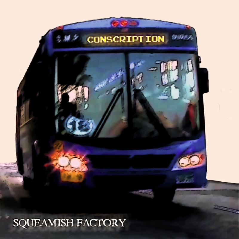 SQUEAMISH FACTORY: il nuovo video ''Conscription''