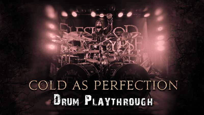 FLESHGOD APOCALYPSE: pubblicano il playthrough di batteria di ''Cold As Perfection''